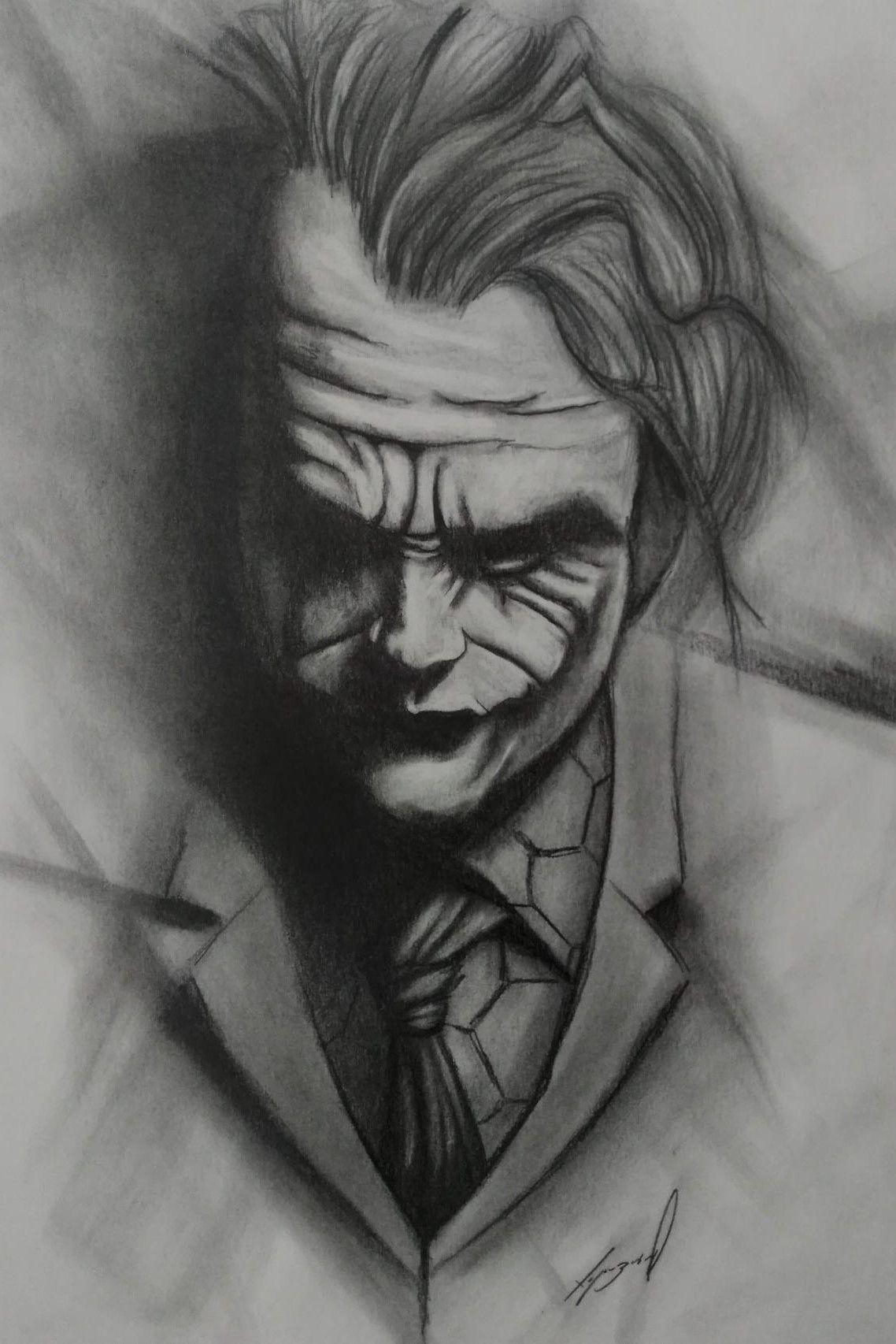 The Joker Pencil Drawing By Morkedin On Deviant Art