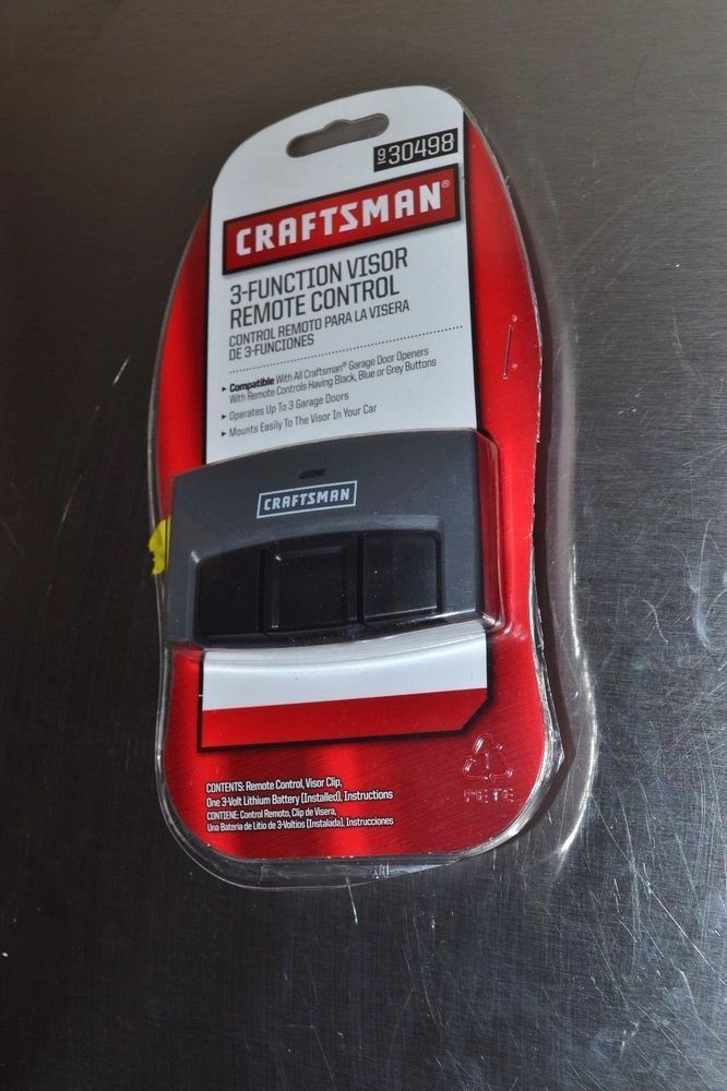 Listed A Craftsman Garage Door Remote 30498 Control Opener Fits
