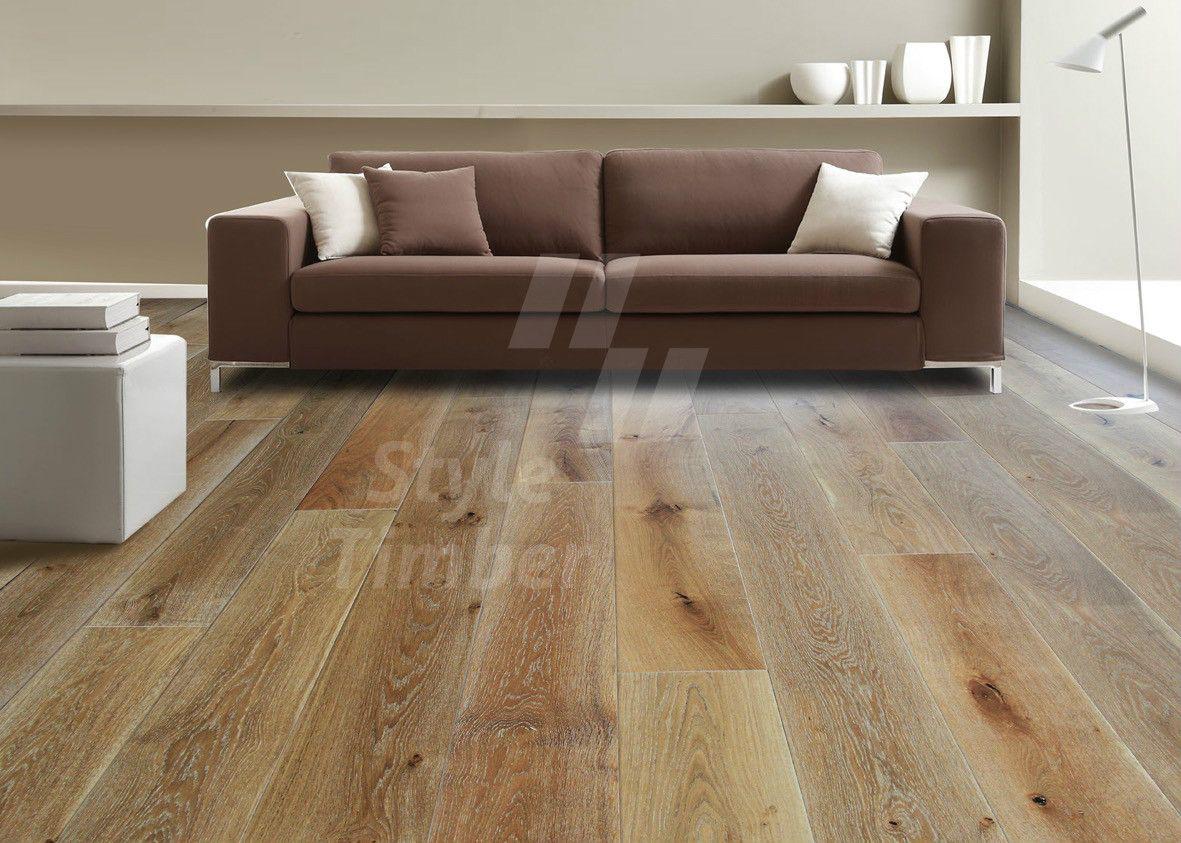 Milano Bianco Oak engineered hardwood, Engineered