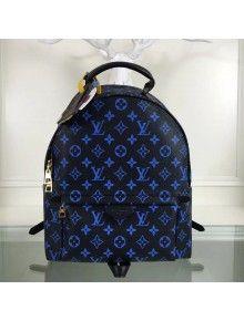 03fa38a0056 Louis Vuitton Palm Spring Monogram Canvas Backpack MM Blue