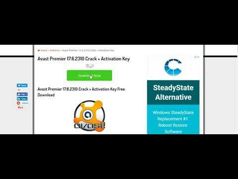 Avast Premier 17 6 2310 Crack + Activation Key Free Download