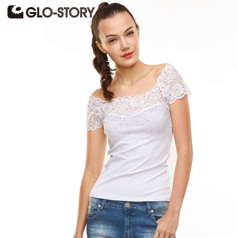 Find More T-Shirts Information about GLO STORY Band 2016 New Arrive Fashional Women T shirt O neck Short Sleeve Summer T Shirt Solid Tee Shirt  Femme Tops,High Quality t-shirt hanger,China shirt finishing Suppliers, Cheap shirt patterns for sewing from GLO-STORY FASHION on Aliexpress.com