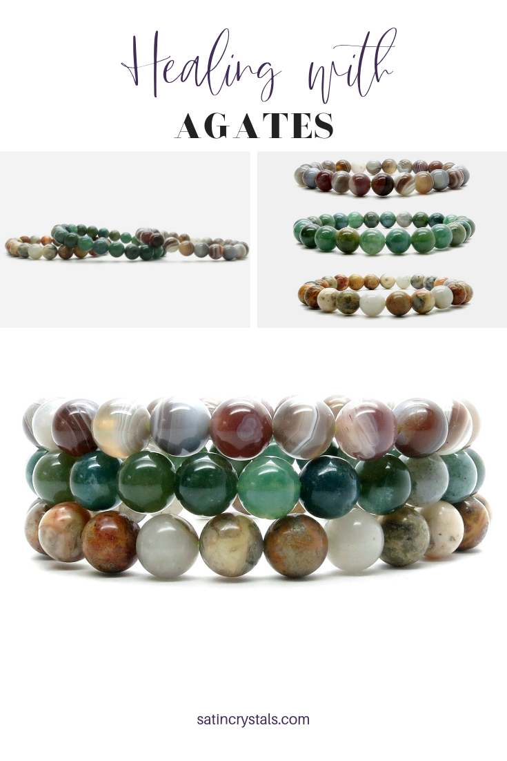 Do You Know The Healing Properties Of Agates Among Them Are Powerful Properties Like Grounding V Healing Gift Crystals Healing Properties Agate Stone Meaning