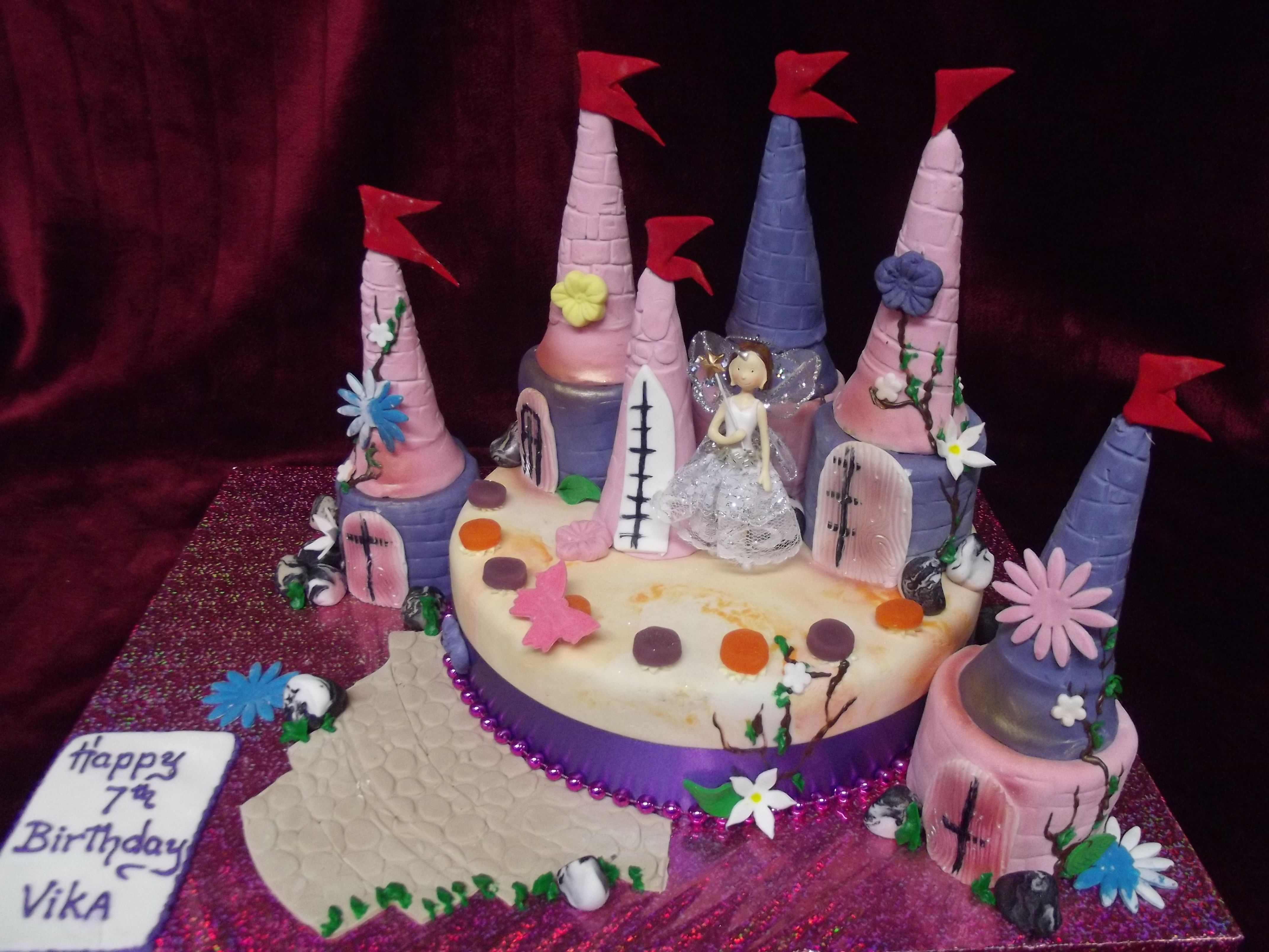 Princess Castle cake Best Birthday Cakes in Auckland New Zealand