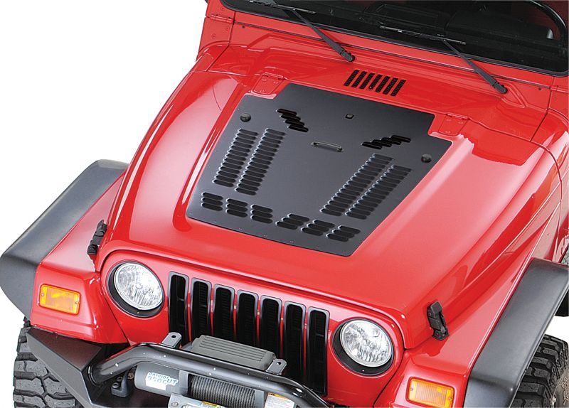 HyLine OffRoad Louvered Hood Panel