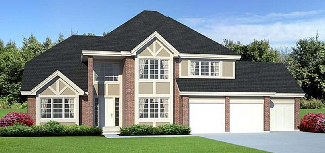 3 bedroom house plan: hightower | 84 lumber. you'll find elegance