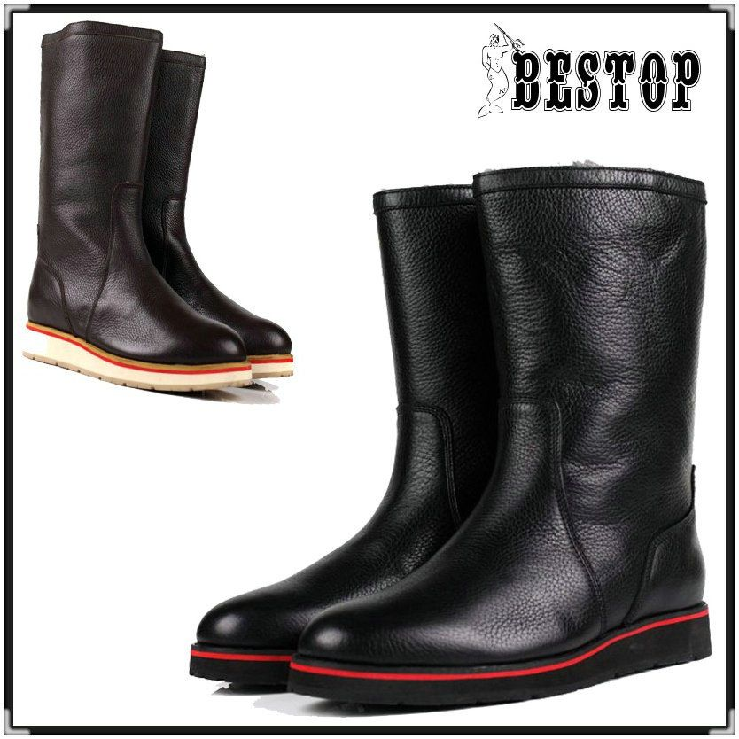 Find More Boots Information about Free Shipping DHL BSTB0313 men leather boots  leather ankle boots New Arrival,High Quality boot choice,China boot Suppliers, Cheap boot skull from Classic Luxury Goods on Aliexpress.com
