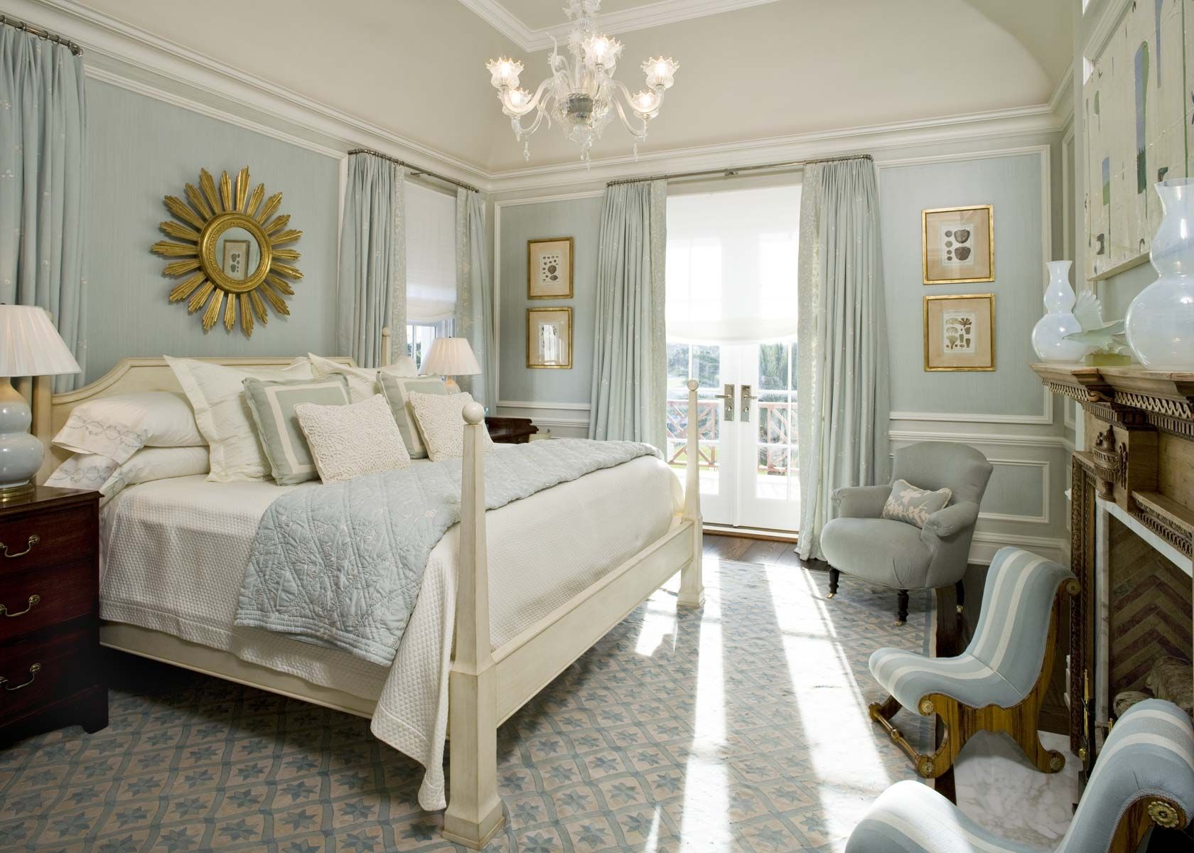 How pretty is this room. I love the color coordinati… | Curtains and ...