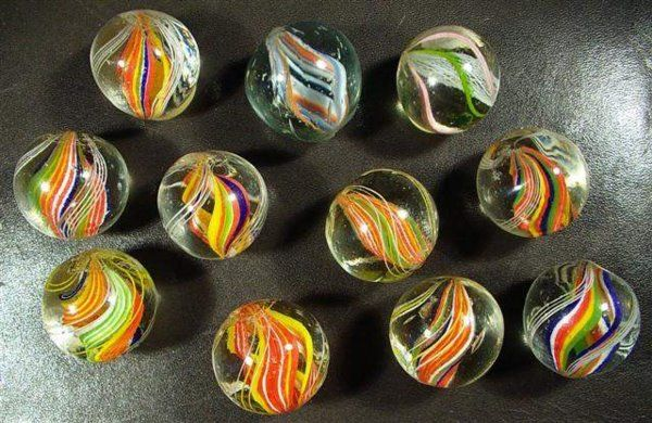 Divided Core Solid Core Ribbon Core Coreless Swirls Marble Glass Marbles Marble Machine