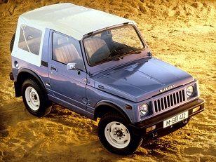 Suzuki SJ 410 Cabrio (1982 – 1985). | 4x4 - Suzuki jimny ...