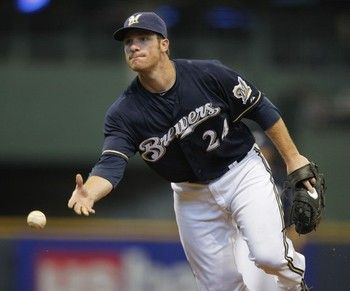 Mat Gamel Milwaukee Brewers Out For The Season Again Brewers Baseball Milwaukee Brewers Brewers