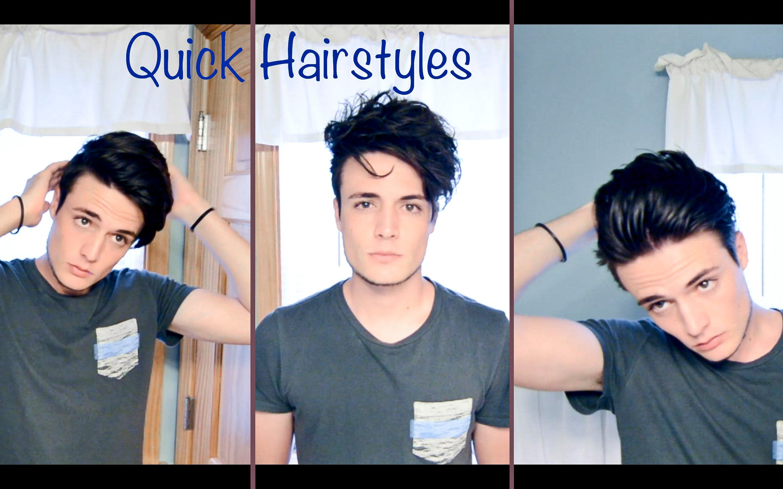 Mens Hair Quick And Easy Hairstyles Hair Hair Styles Hair