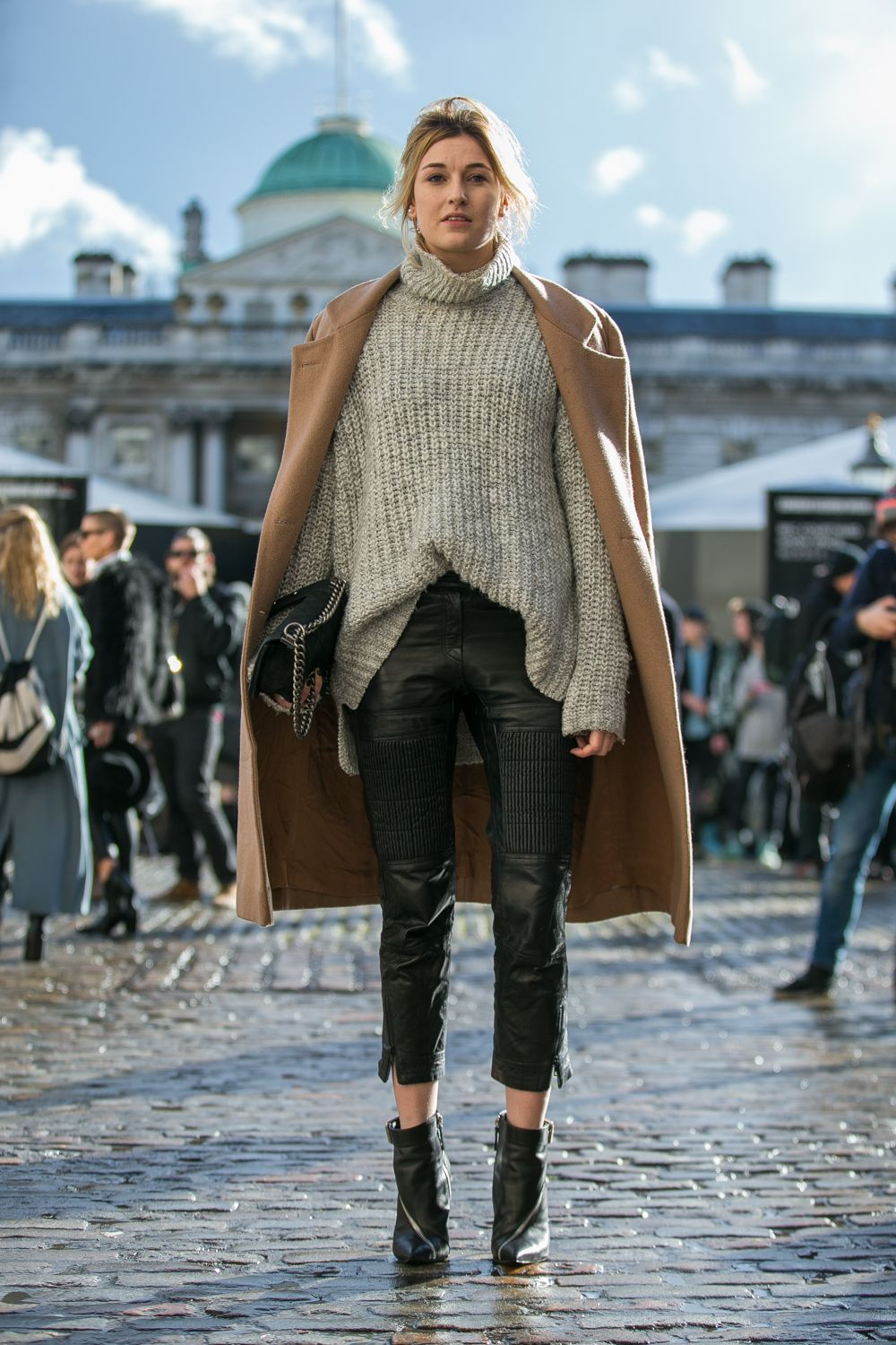 London Street Style With Camille Charrière At London Fashion Week - Lightaholic