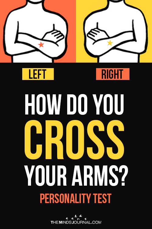 The Way You Cross Your Arms Reveals The Kind Of Pe