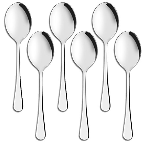 Serving Spoons Aoosy 9 8 Inches Serving Spoon Stainless Https Www Amazon Com Dp B071wpqdgg Ref Cm S Serving Spoons Ceramic Cookware Set Serving Utensils