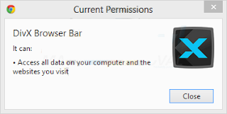 DivX Browser Bar is a dangerous toolbar which can redirect you to malicious sites and convince the users to purchase from its site. If you want to remove the toolbar then make use of DivX Browser Bar Removal Tool and protect your system from dangerous situations.