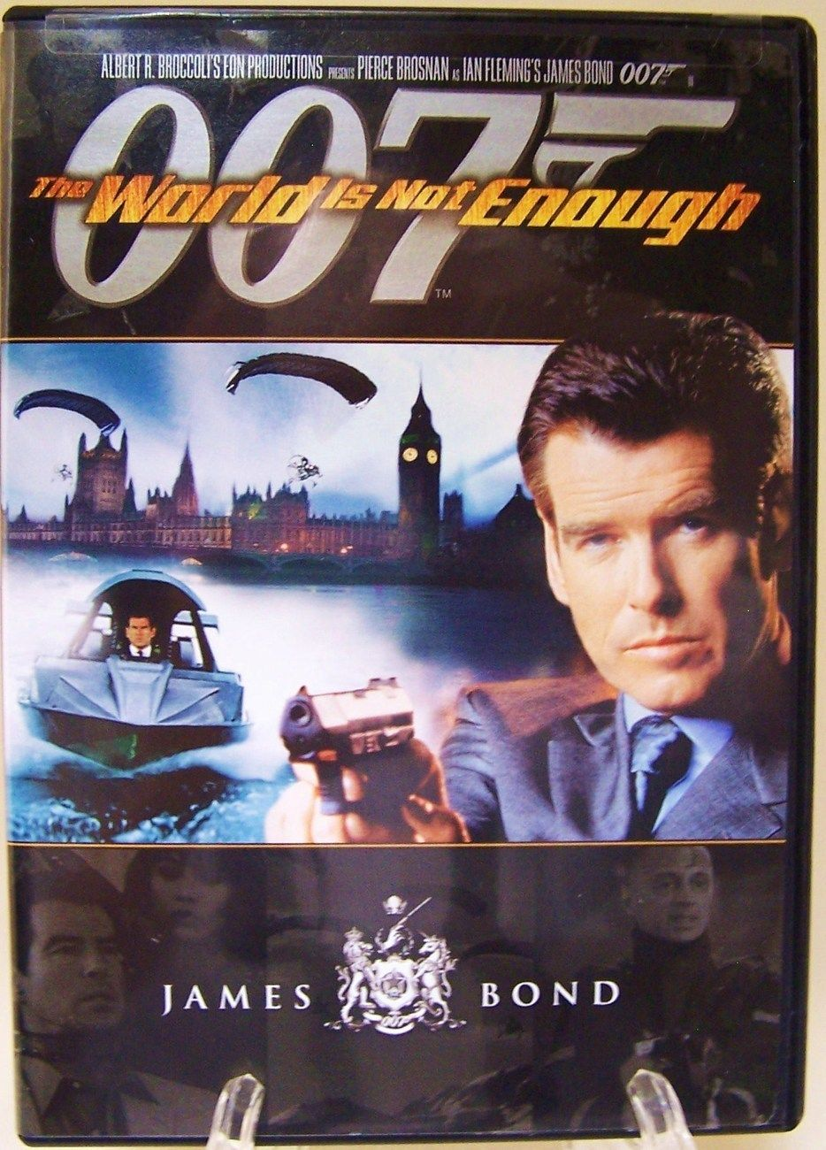 The World Is Not Enough James Bond 007 Dvd Bond Movies James