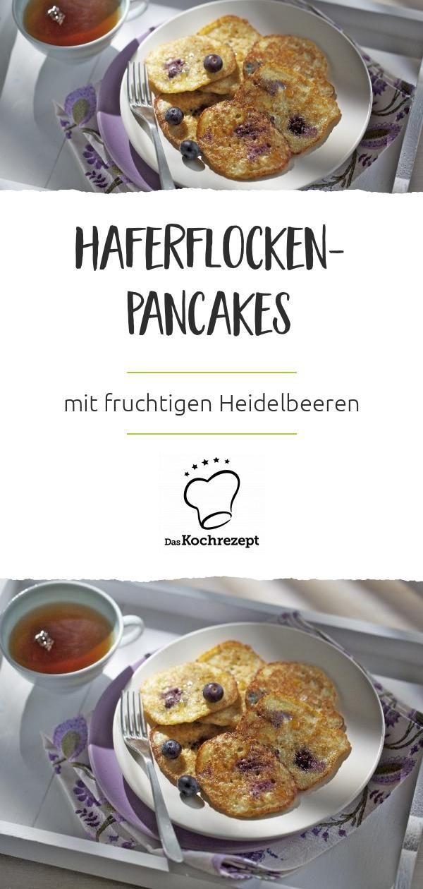 Haferflocken-Pancakes #frühstückundbrunch
