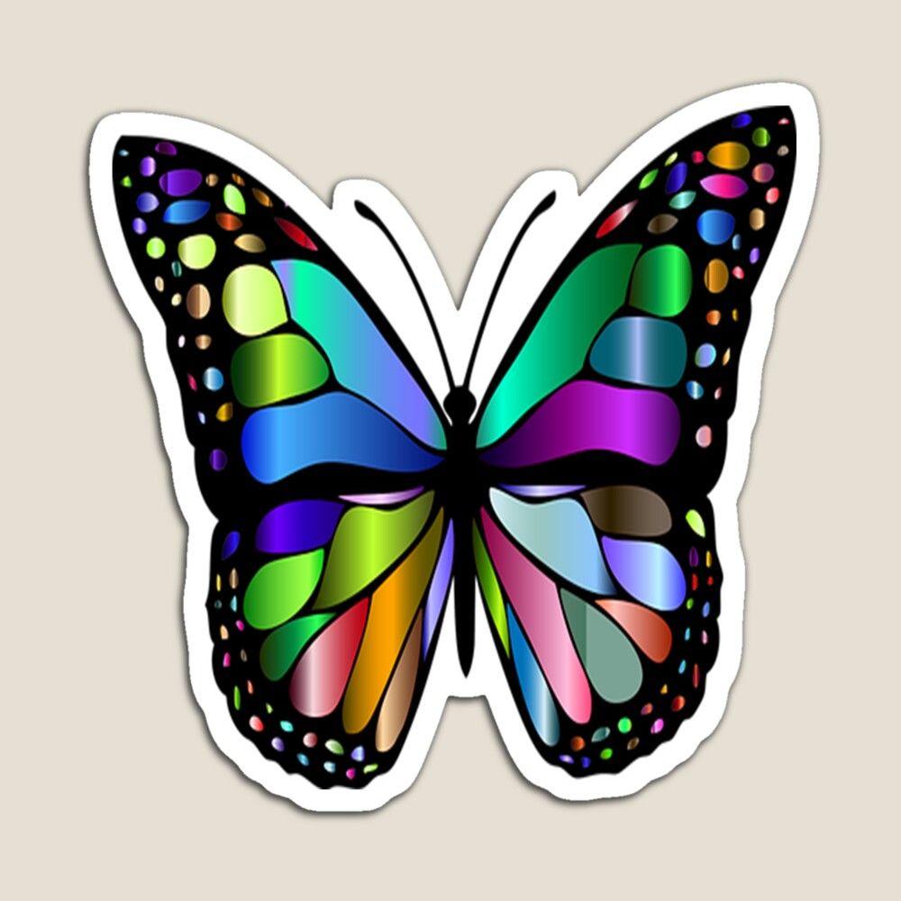 Promote Redbubble Butterfly Design Butterfly Monarch Butterfly [ 1000 x 1000 Pixel ]