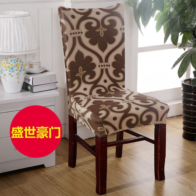 French Lily Flower Chair Cover Spandex stoelhoes eetkamer Fleur de ...