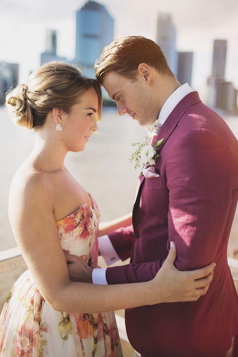 Trouwjurk Bloemenprint.Vendor S Favourites Simon Peter Taylor Photography Newlyweds