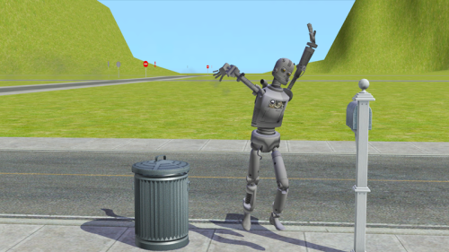 Sims 3 Simbot's Converted to Sims 2 as Servo Replacements (+