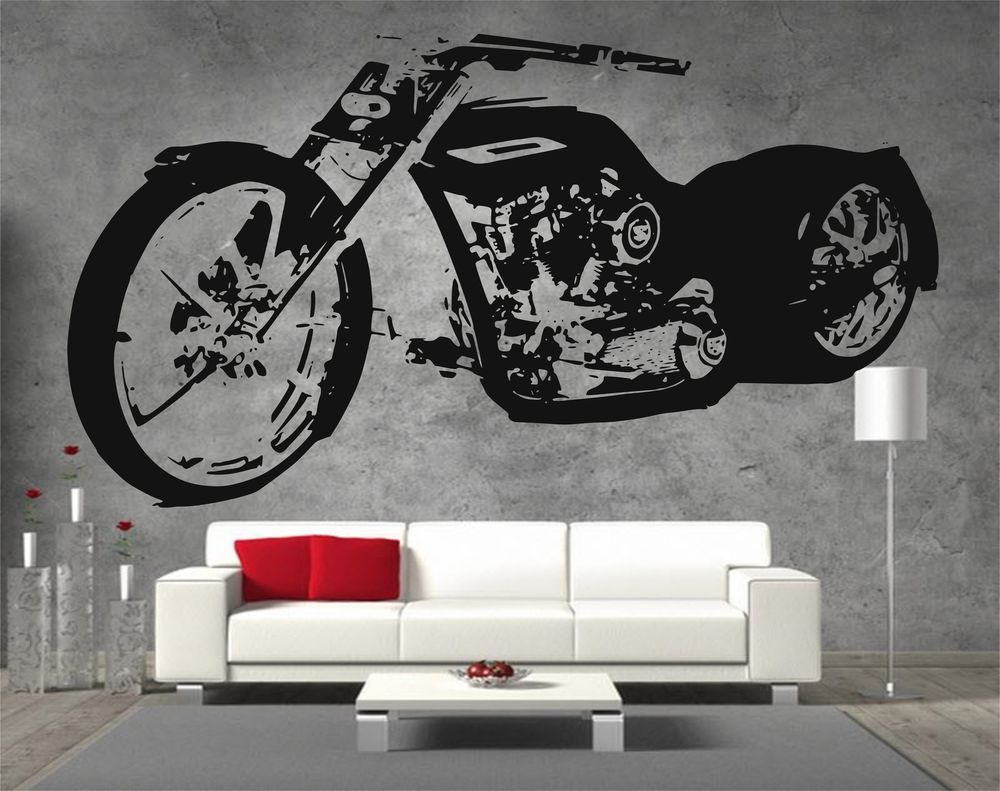 Harley Davidson Low Rider SOA Sons Of Anarchy Chopper Vinyl - Stickers for motorcycles harley davidsonsharley davidson decalharley davidson custom decal stickers
