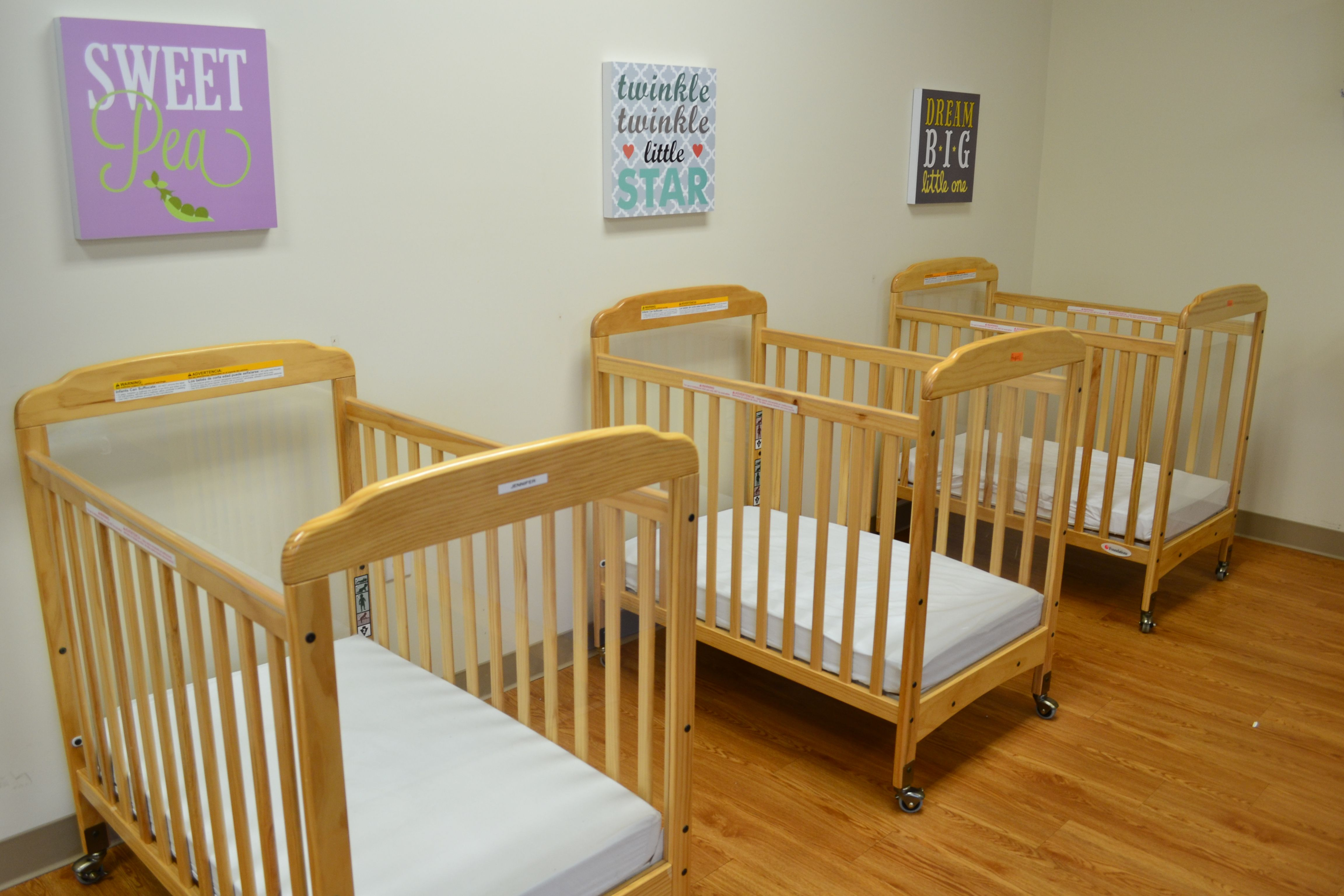 Sleeping Area In Our Infant Classroom Home Daycare Infant
