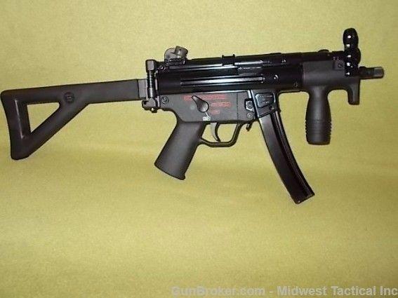 Hk Mp5k With Qualified Mfg Sear Machine Guns At