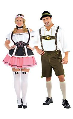 Plus Size Bavarian Couples Costumes  sc 1 st  Pinterest & Plus Size Bavarian Couples Costumes | Holidays | Pinterest | Couple ...