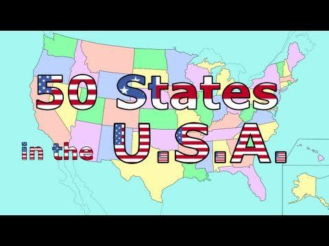 The 50 States Song I Like This For Teaching When The Students
