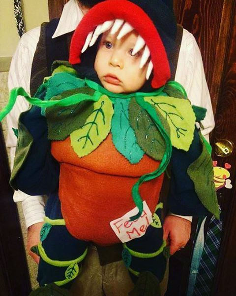 40 Adorable Halloween Costumes For Baby-Wearing Parents ...