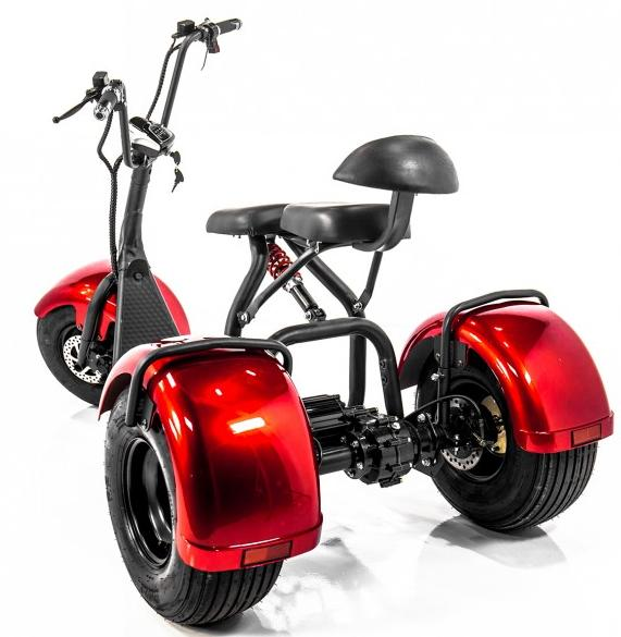 Best 12 EW-21 Chopper Trike Mobility Scooter by EWheels Review   The EWheels EW-21 Chopper Trike Scooter is a unique recreational unit