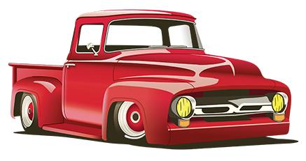 Flyer Png Classic Cars Trucks Hot Rods Truck Art 1956 Ford Truck