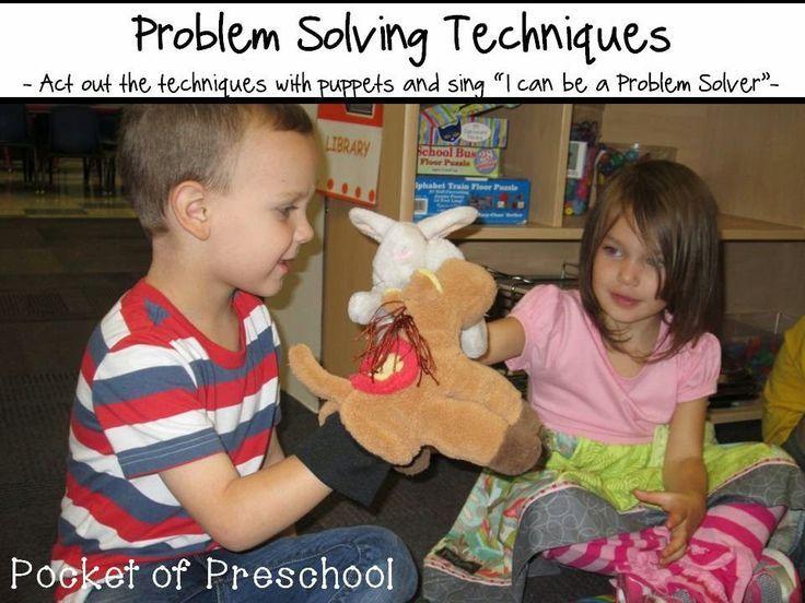 Problem Solving with Little Learners (preschool, pre-k ...