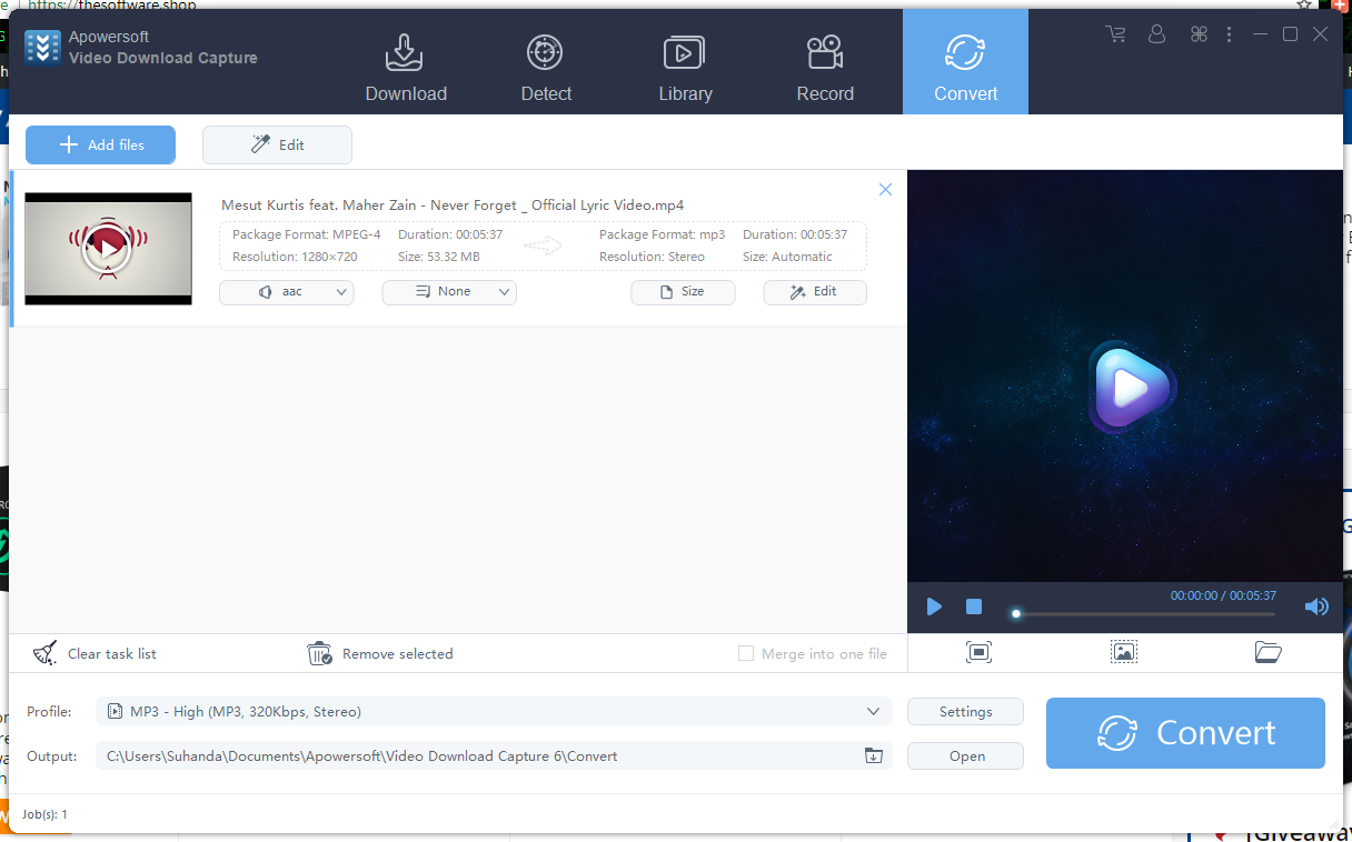 The powerful and productive video downloader can download