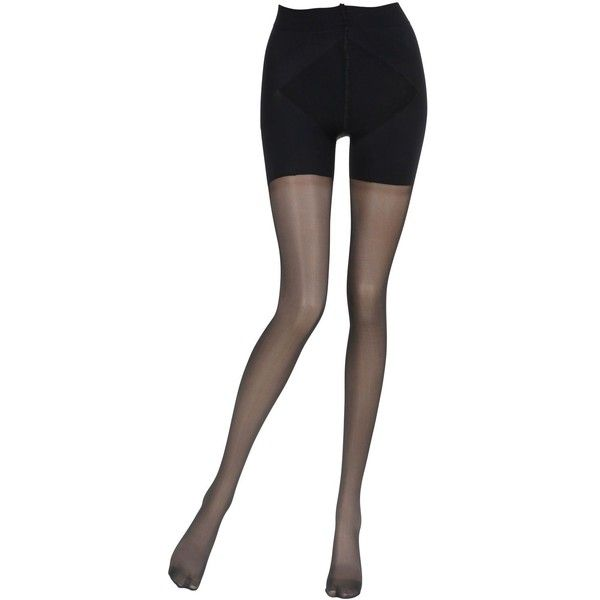 La Perla Women Charme Push-up Effect Tights (100 BRL) ❤ liked on Polyvore featuring intimates, hosiery, tights, black, sheer hosiery, transparent tights, la perla hosiery, la perla and sheer tights