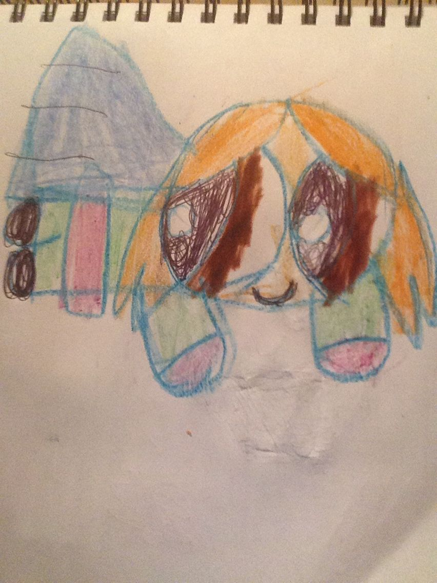 Lois as a super hero by Kaylee Alexis