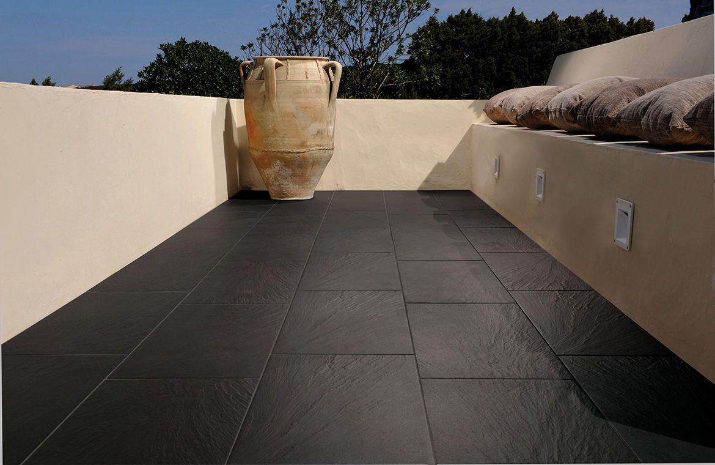 Slate Gray Flooring For Outoors Google Search Black Slate Tiles Slate Tile Patio Tiles