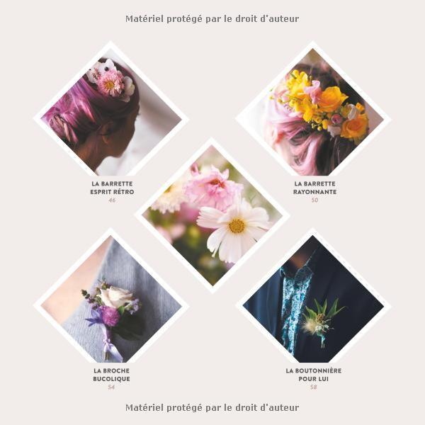 Amazon.fr - Mes bijoux & accessoires fleuris : couronnes, barrettes et boutonnières expliquées pas à pas - Roses by Claire - Livres