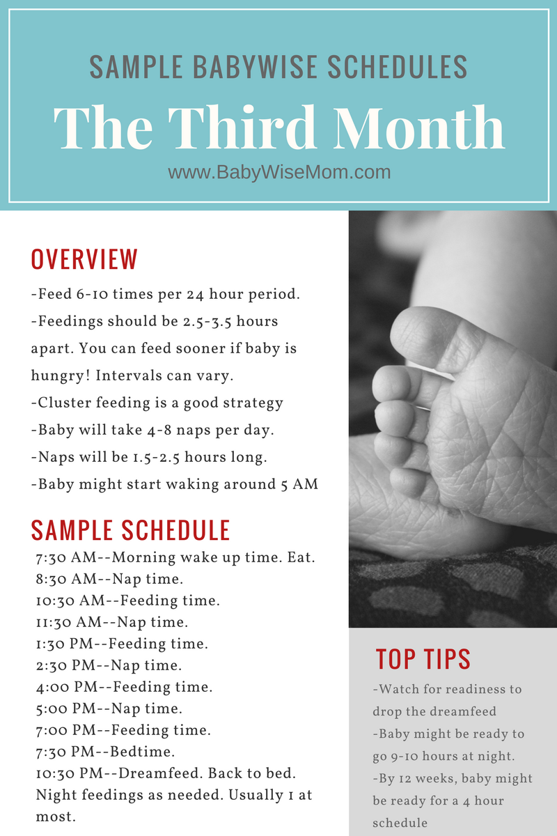 Babywise Month 3