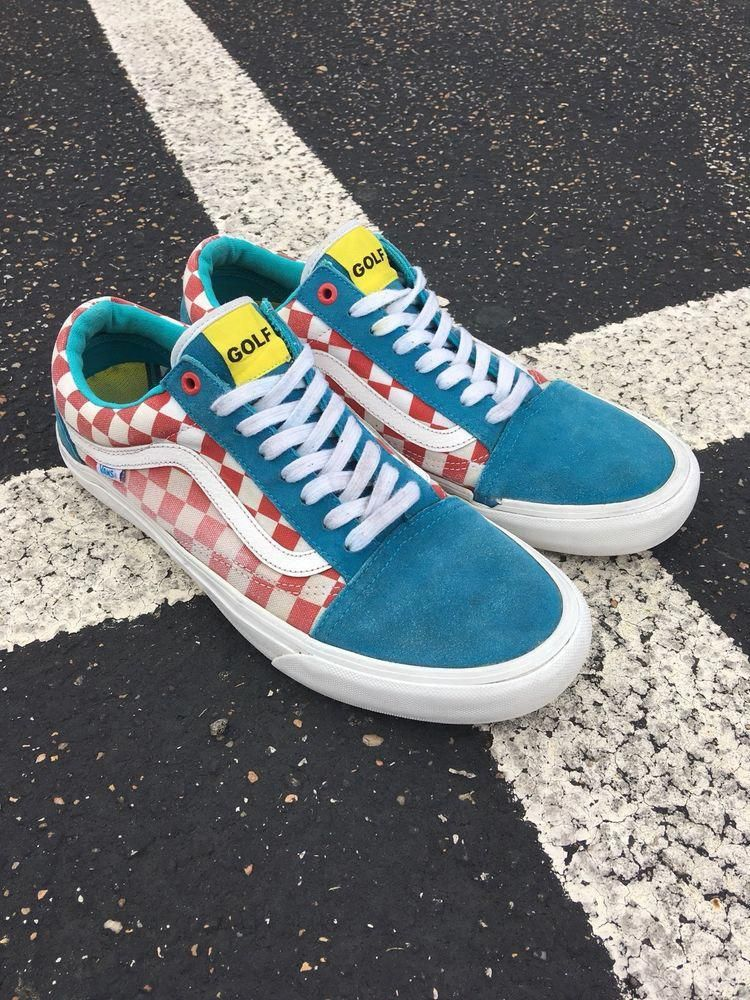 Vans Old School Pro Golf Wang Tyler The Creator Odd Future Mens Size 10 5 Fashion Clothing Shoes Accessories Mensshoes Athleticshoes Ebay Link Golffash