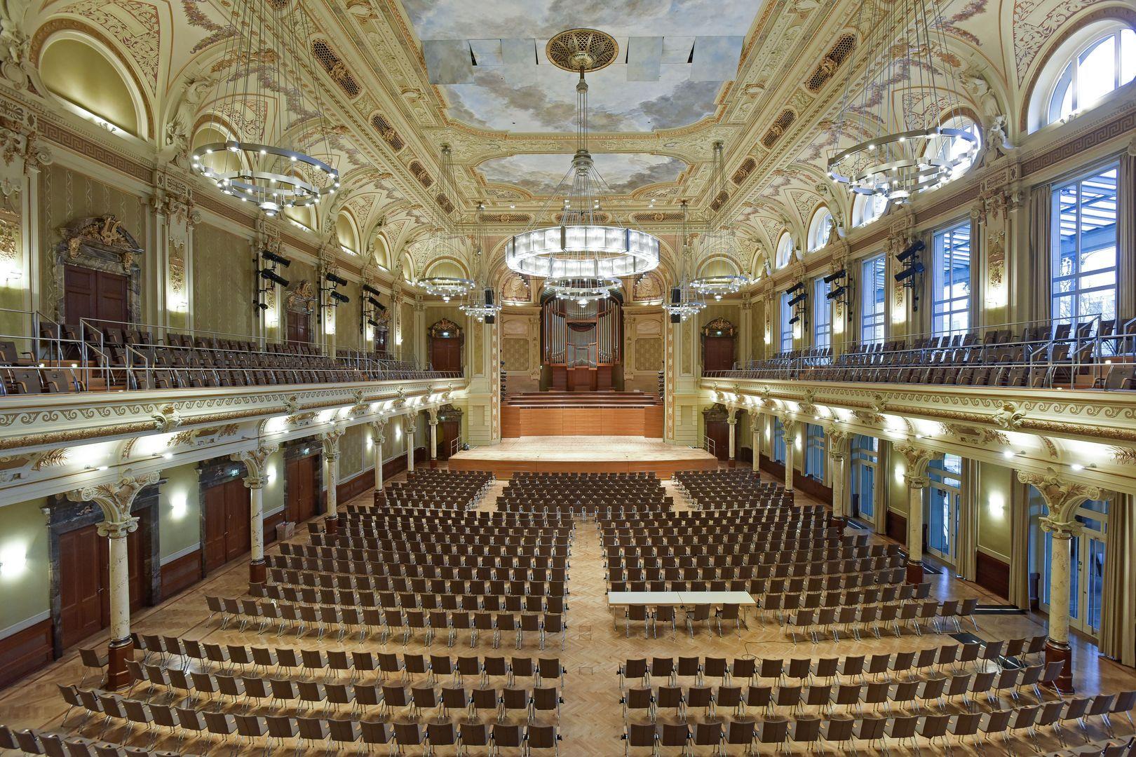 Stadthalle Wuppertal Saalplan