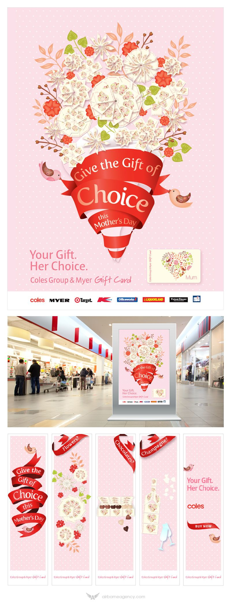 baby gift card coles