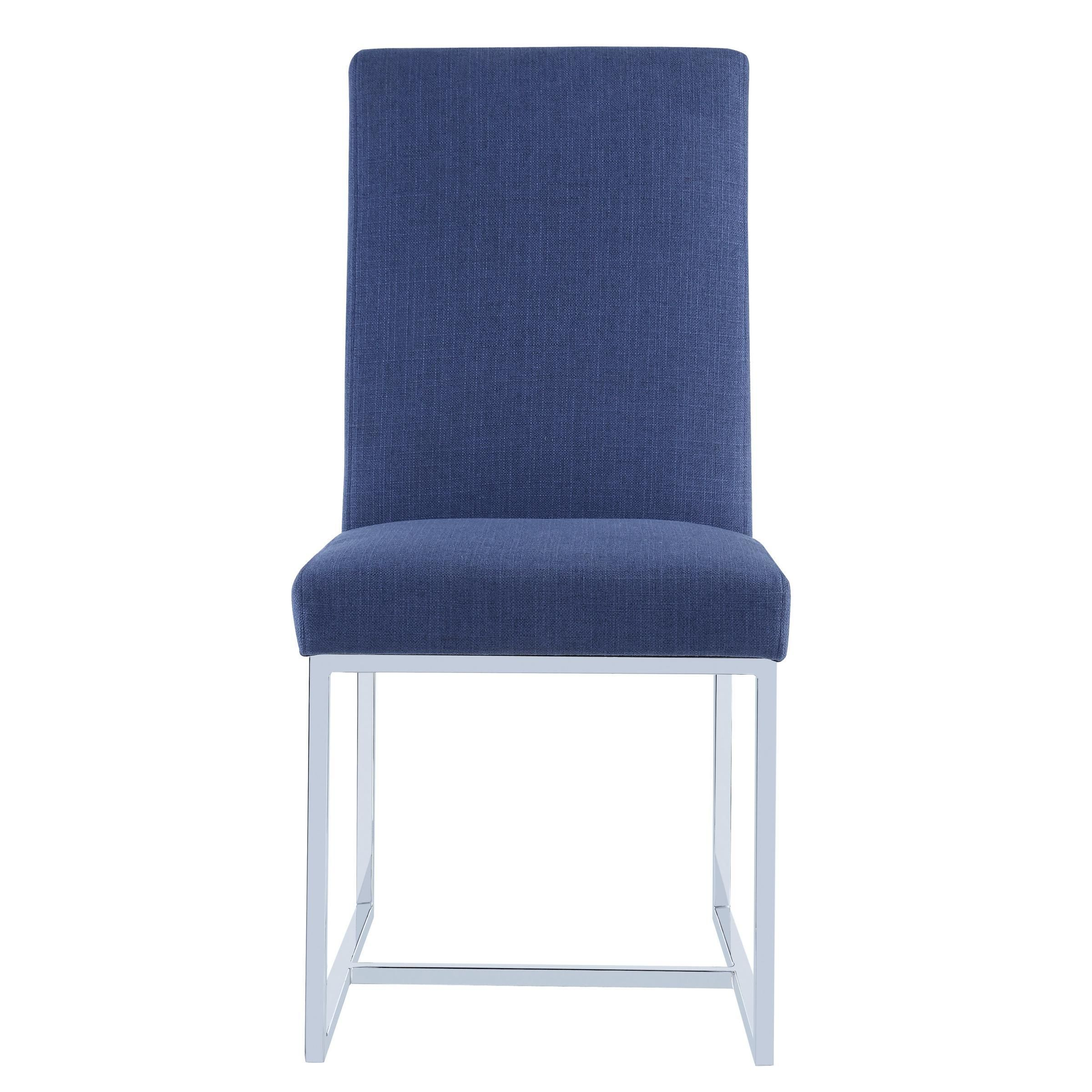 Blue Dining Chair Dining Chairs Accent Chairs Under 100 Modern