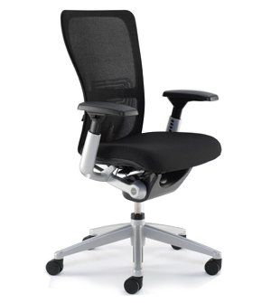 Zody Chair by Haworth Highly Adjustable, 4D