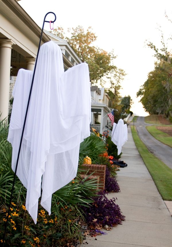 Ghost Halloween Outdoor Decorations Decoration, Cheesecloth ghost