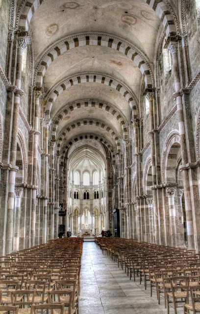 Abbey of la Madeleine, Vézelay ~