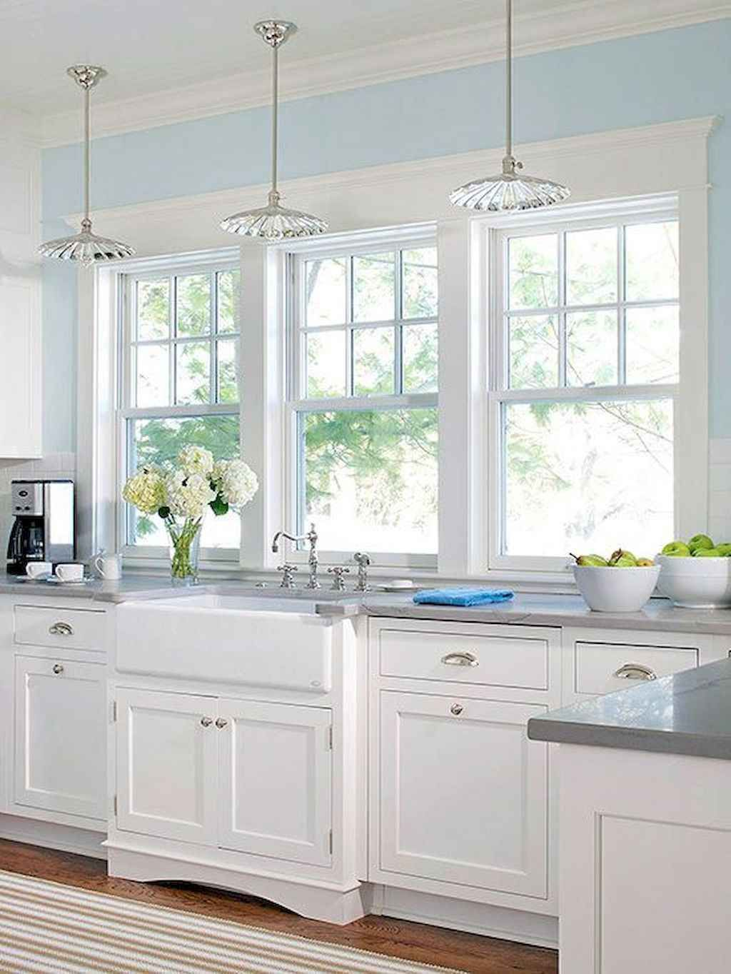 best 100 white kitchen cabinets decor ideas for farmhouse style rh pinterest com