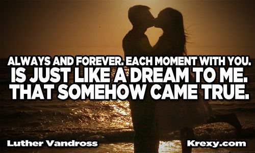 Love You Forever Quotes Stunning Me And You Forever Quotes  Luther Vandross Quotes  Always And